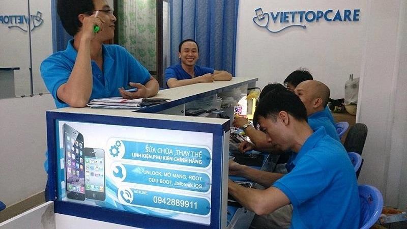 sửa điện thoại tại viettopcare