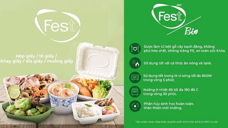 hộp giấy đựng thực phẩm eco pro