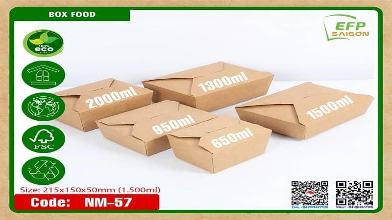 hộp giấy đựng thực phẩm inoffset sài gòn