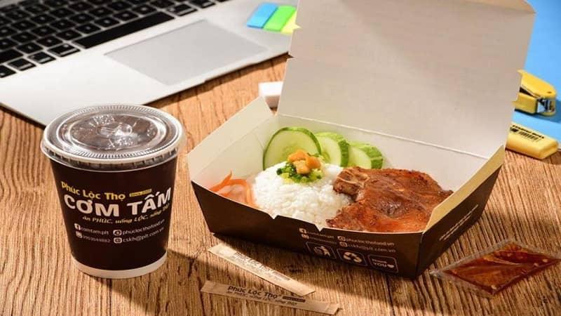 Hộp giấy đựng thực phẩm tại RVC Plastic