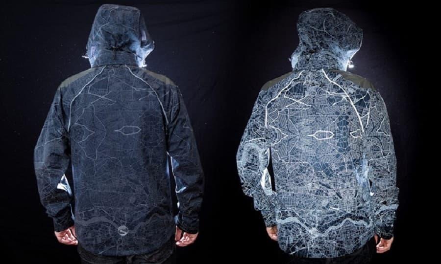 áo khoác phản quang nam