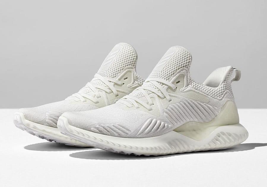 mẫu giày sneaker nam đẹp 2020 Alphabounce Beyond Triple White