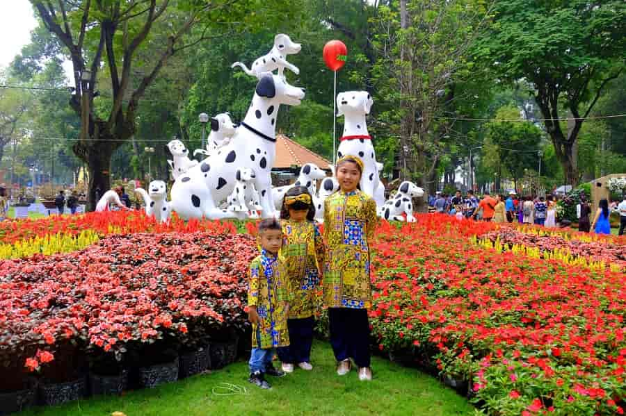 Chợ Hoa xuân Tao Đàn
