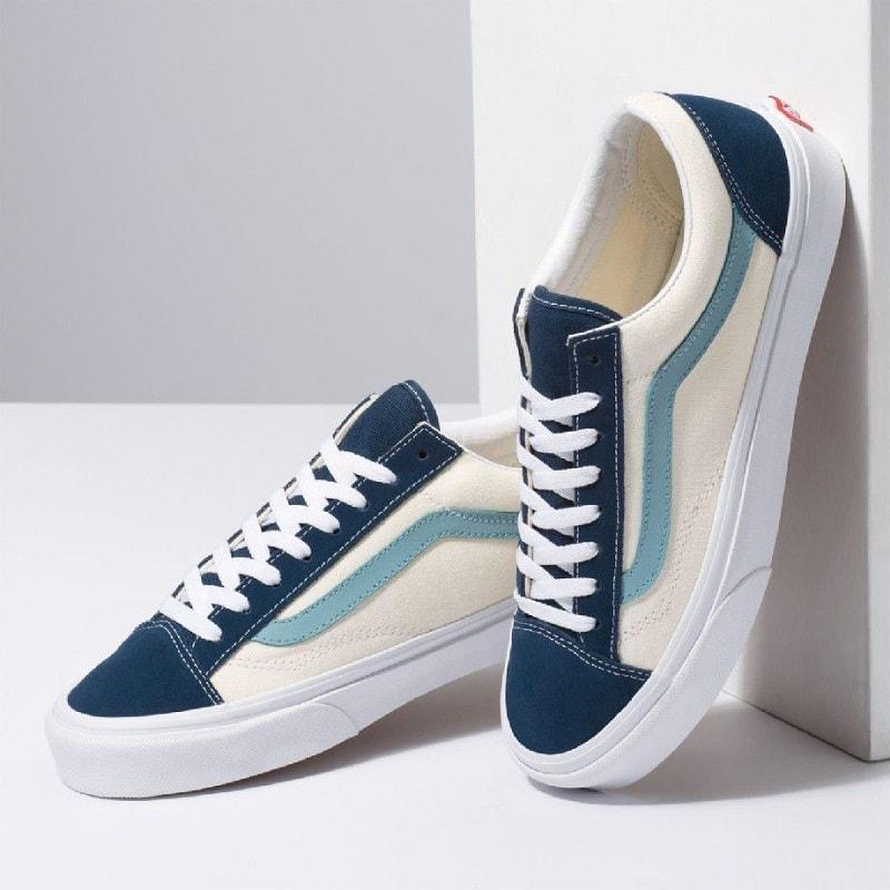 giày vans 36 retro sport xanh