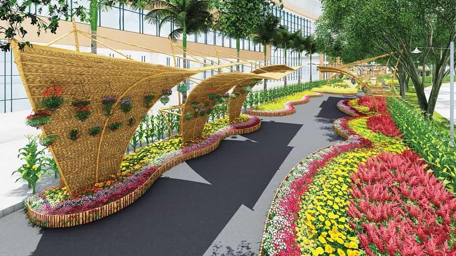 Hội hoa xuân Phú Mỹ Hưng