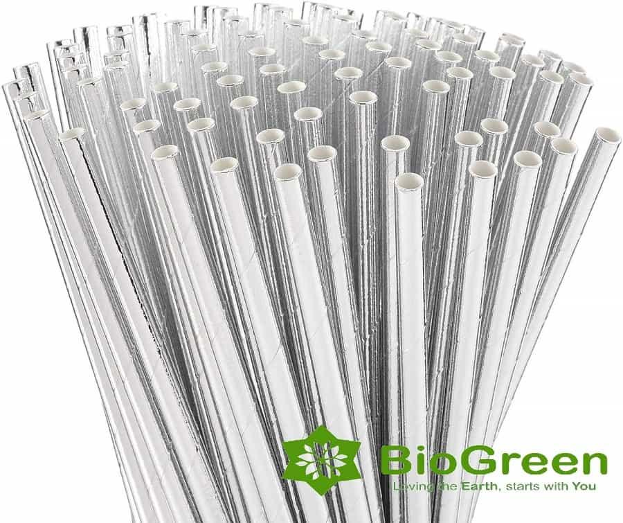 Ống hút giấy - Bio Green