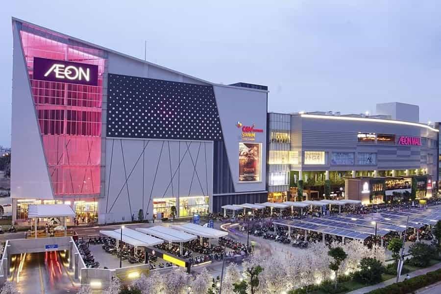 Các khu trung tâm mua sắm