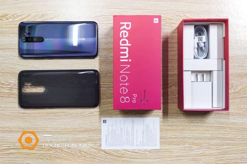 Smartphone giá rẻ 3-5 triệu - Xiaomi Redmi Note 8 Pro