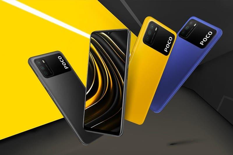 smartphone 3-5 triệu tốt nhất - Xiaomi POCO M3