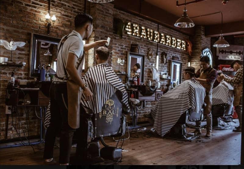 4rau barber shop