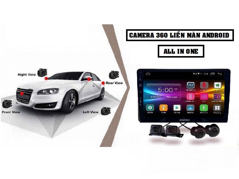 Màn hình liền Camera 360 Zestech Z800 Pro+ sở hữu bộ cấu hình rất cao