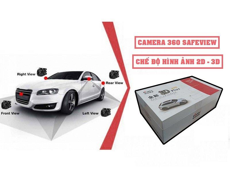 Camera 360 Safeview LD900 và LD980 sở hữu mức giá lắp đặt khá tốt