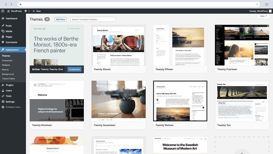 WordPress.com là một nền tảng tạo trang Web vệ tinh miễn phí