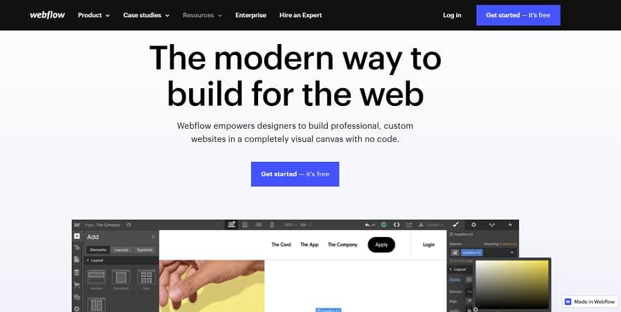 tạo website vệ tinh với webflow