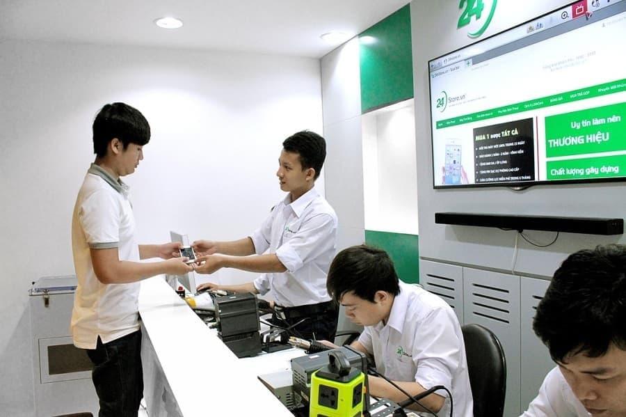 Cửa Hàng Bán Điện Thoại Cũ Uy Tín Tại TPHCM - 24hStore