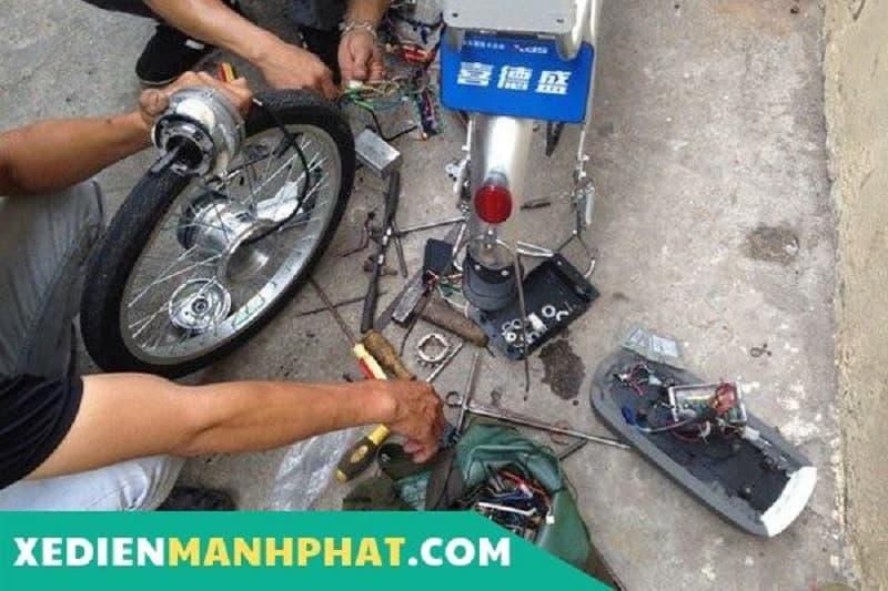 sửa xe điện Mạnh Phát