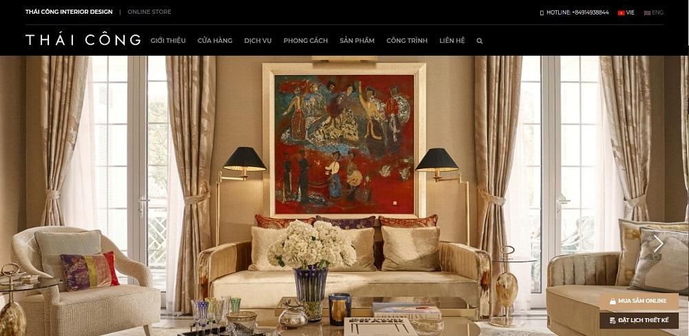 Thái Công Design là trung tâm thiết kế nội thất uy tín tại TPHCM