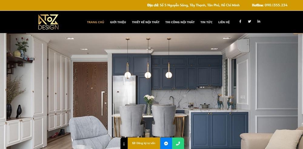 ATOZ Design là công ty thiết kế nội thất uy tín tại TPHCM