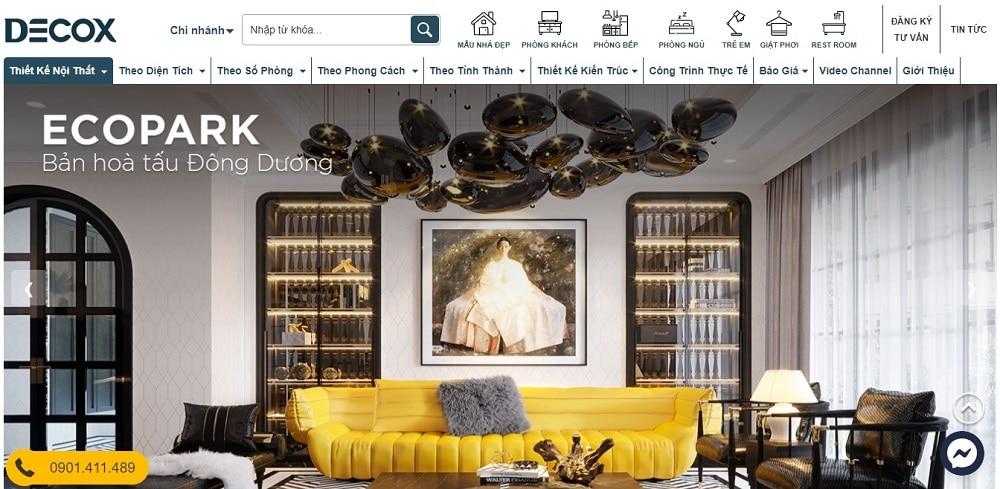 Decox Design chuyên thiết kế nội thất uy tín tại TPHCM