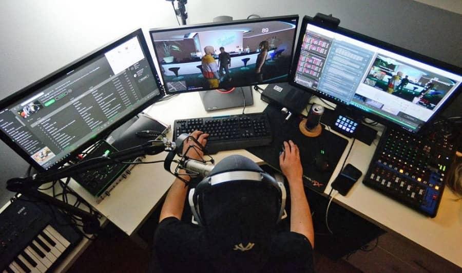 streamer là một công việc làm tại nhà có thu nhập khủng