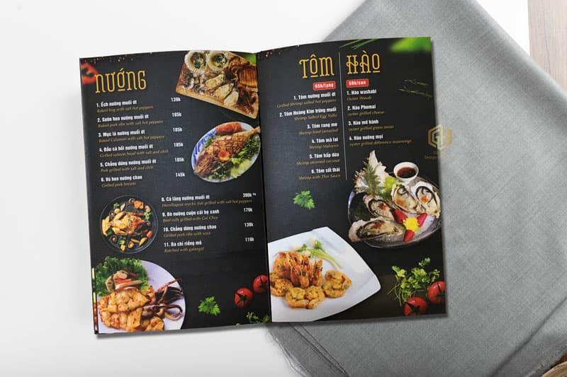 tập trung vào thực đơn là một ý tưởng marketing hiệu quả cho quán ăn