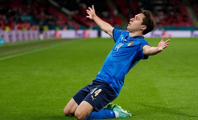 cầu thủ hay nhất euro 2021 Federico Chiesa