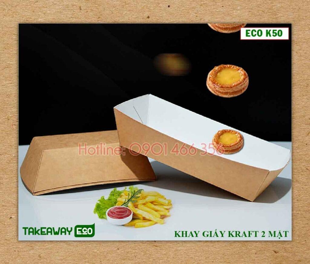 khay giấy đựng thực phẩm eco pro