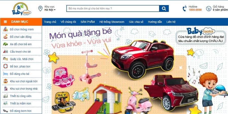Shop đồ chơi trẻ em giá rẻ - Baby Của Tôi