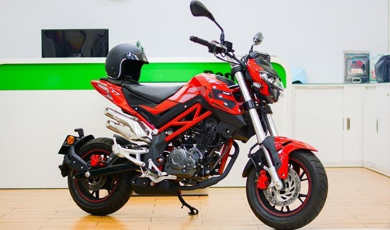 Benelli TNT 125 là mẫu xe moto mini 125 phân khối giá rẻ