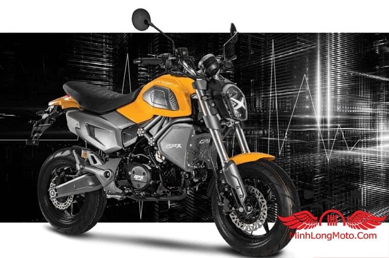 Moto mini 125cc giá rẻ GPX Demon X 125