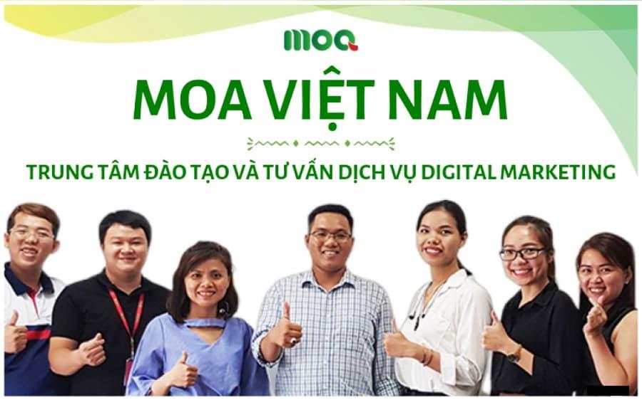 Trung tâm dạy Digital Marketing MOA Việt Nam