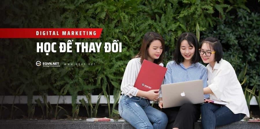 Trung tâm đào tạo Digital Marketing TPHCM - EQVN