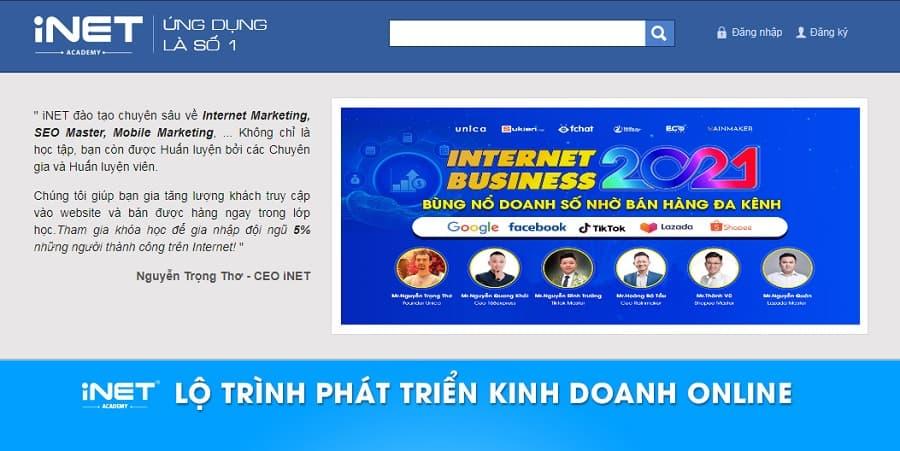 Trung tâm đào tạo Digital Marketing INET
