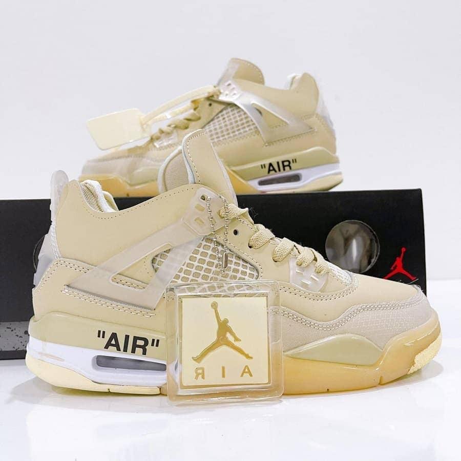 Nike Air Jordan 4 Retro Off-White Sail