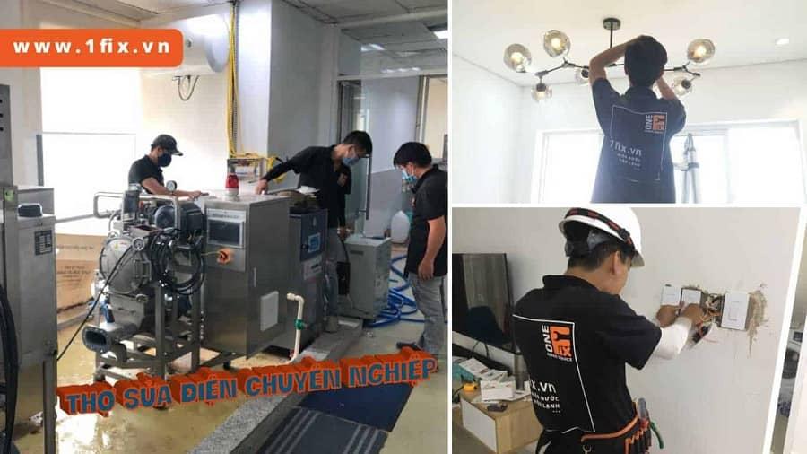 sửa chữa máy lạnh tại TPHCM 1fix