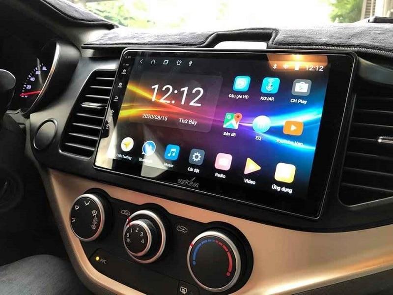 Nội thất xe sang trọng và nổi bật hơn khi lắp màn hình DVD Android ô tô