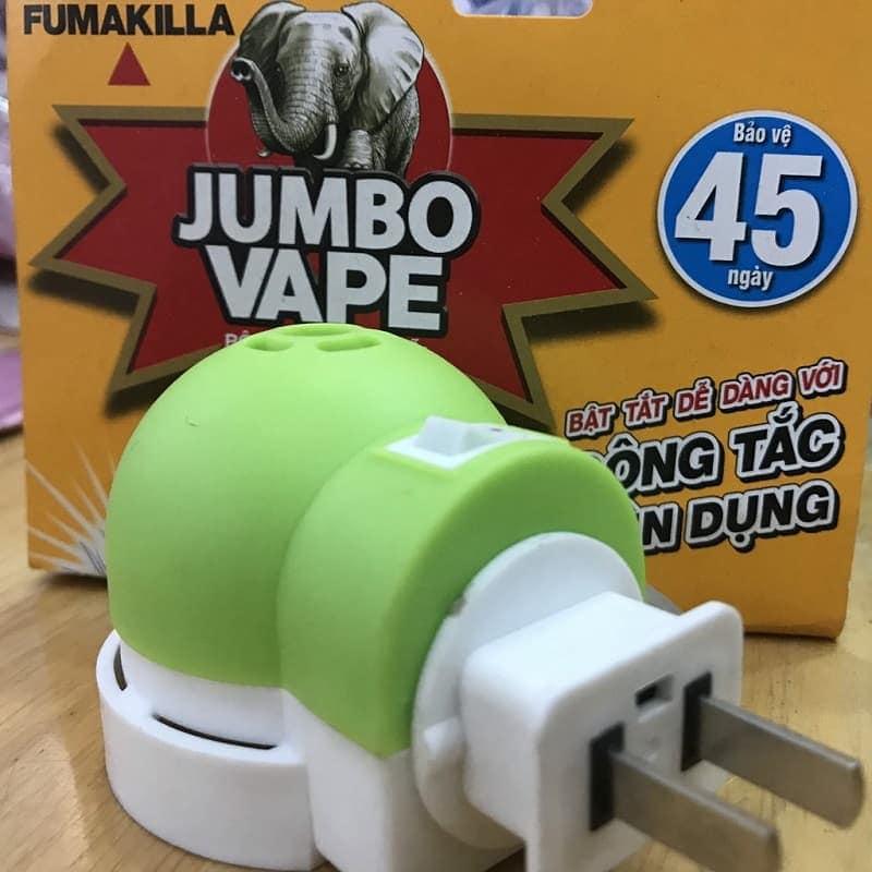Bộ xông tinh dầu đuổi muỗi Jumbo Vape