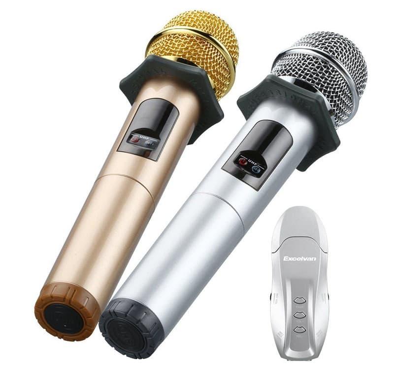 mic hát karaoke bluetooth Excelvan K18U