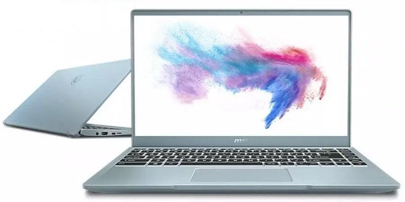 cấu hình laptop msi modern 14 b10mw